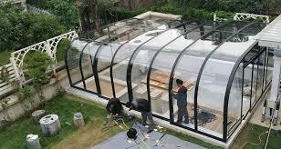 سقف متحرک گلخانه